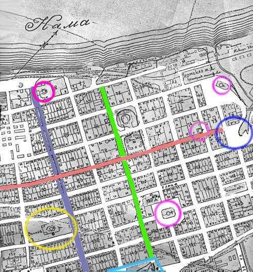 Карта: Первогород